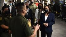Las esperadas imágenes de la primera visita de Kamala Harris como vicepresidenta a la frontera México-EEUU