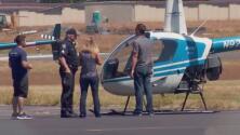 Murió a manos de la policía un hombre que intentaba robarse el helicóptero de una escuela en Hillsboro