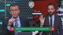 Marc Crosas se molestó por comparación entre Vela y Pulido