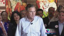 Jeb Bush insiste en el voto de hispanos republicanos
