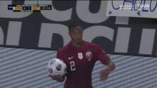 ¡TIRO ATAJADO! disparo por Ali Abdulla.