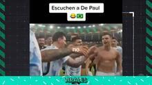 Messi detuvo burlas a Brasil en pleno festejo