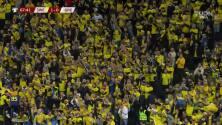 ¡Gol de Isak! Suecia pone un pie en Qatar 2022 y España sufre
