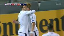 Goooolll!! Ciro Immobile mete el balón y marca para Italia