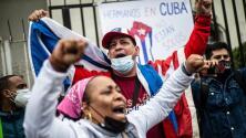 """""""Hicieron una masacre"""": cubanos denuncian represión policial en la isla y piden intervención militar de EEUU"""