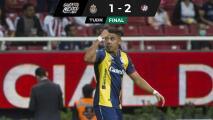 Chivas cae en debut ante San Luis con error de Toño Rodríguez