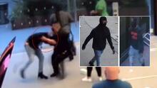 Revelan video del momento en que un hombre apuñala a guardia de seguridad en tienda Apple