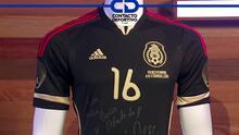 Efraín Juárez expresa lo que significa la camiseta del Tri que donó para ser sorteada