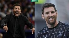 """Cerezo asegura que Simeone """"hizo bien en intentar"""" fichar a Messi"""