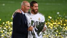 Zinedine Zidane espera la renovación de Sergio Ramos y Lucas Vázquez
