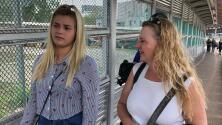 El drama de una joven migrante venezolana separada de su familia y obligada a regresar a México