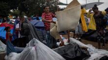 Abren un nuevo albergue para los migrantes en Tijuana, pero algunos prefieren no irse