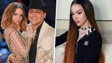 """Novia de Adriel Favela en polémica al contar que tiene """"comunicación abierta"""" con su ex Nodal (y opinar de Belinda)"""