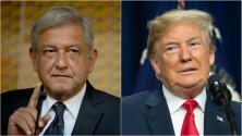 """Trump felicita a Andrés Manuel López Obrador y asegura que está """"deseando trabajar con él"""""""