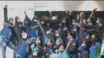 Estas niñas colombianas cumplen su sueño de ser parte de un programa apoyado por el Space Center de la NASA