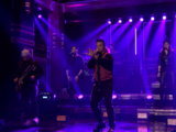 Luis Fonsi appears and performs on late night TV show