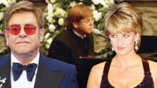 Elton John revela cuál fue su mayor miedo en el funeral de la princesa Diana