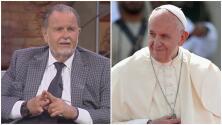 """""""Dios mío, ábreme la puerta"""": lo que haría El Gordo si fuera el Papa Francisco (quien quedó atrapado en un ascensor)"""