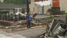 Estructuras afectadas y viviendas evacuadas, algunos de los efectos del tornado que tocó tierra en Canton, Texas