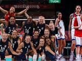 Team USA va por su primer oro en voleibol y noveno en baloncesto femenil