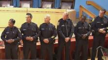 Nueve policías se unen al distrito escolar de Miami-Dade para la protección de niños en escuelas