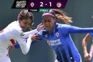 Resumen   Cruz Azul viene de atrás y remonta 2-1 al Toluca con gol al 90'