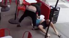 Sospechoso le lanza un ladrillo por la cara a un hombre en medio de disputa en Manhattan