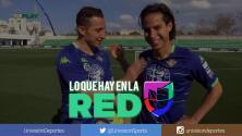 Lainez y Guardado hicieron el CHANFLE Challenge entrenando con el Betis