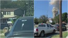 Lo que se sabe del caso del avión militar que se estrelló en un área residencial de Lake Worth