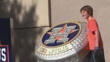 """""""Hoy vamos a ganar"""": el sentir de aficionados de los Astros de Houston para el segundo juego de la Serie Mundial"""