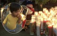 """""""Le encantaba estar con sus abuelos"""": realizan vigilia en memoria del bebé de 18 meses que murió tras choque en Los Ángeles"""