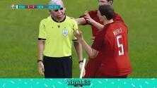 'Recrean' penalti sobre Stearling en el Inglaterra-Dinamarca con árbitro ciego