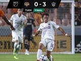 LA Galaxy golea al Houston Dynamo con mágica asistencia de Chicharito