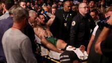 McGregor asegura que tenía fracturas antes de la pelea con Poirier