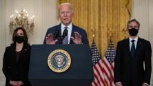 Biden insiste que las evacuaciones y el retiro de tropas de Afganistán puede terminar el próximo 31 de agosto