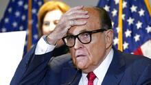 Rudy Giuliani asegura que, a pesar de lo que se ha divulgado en algunos medios recientemente, él no es alcohólico