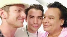 Esta fue la última foto que se tomó Juan Gabriel junto a un amigo y a su novio