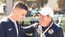 Nico Benedetti manda mensaje de despedida a Miguel Herrera