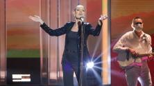 Chantal Andere logra en la final de TCMS los movimientos y pose, pero no la voz, de Rocío Dúrcal