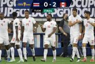 Canadá derrota 2-0 a Costa Rica y está en semifinales de Copa Oro