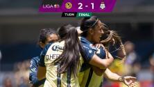 Resumen | ¡Con polémica! América se impone 2-1 a Santos