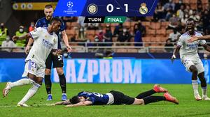 ¡Triunfo agónico! Real Madrid venció al Inter