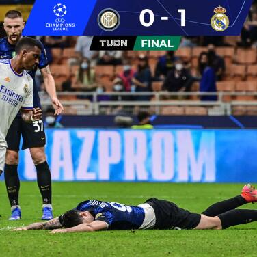¡El Madrid supo sufrir! Fue dominado, pero derrota 0-1 al Inter en Milán