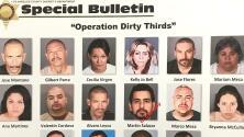 Autoridades arrestan a 32 presuntos miembros de la pandilla carcelaria Mafia Mexicana en California