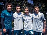 Ochoa, Henry, Córdova y Sánchez reportan y entrenan con América