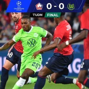 Se anularon... El campeón de Francia no pudo con Wolfsburg en debut
