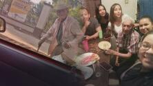 Familia adopta anciano de 108 años que vivía en la calle y su historia se hizo viral