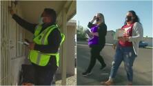 Decenas de voluntarios hacen campaña en Arizona para que los electores participen en las votaciones