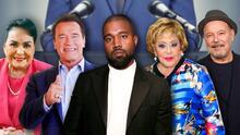 Kanye West, Silvia Pinal, Rubén Blades y otras celebridades que le apostaron a la política
