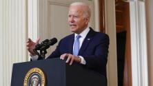 """""""Me niego a continuar la guerra"""": presidente Biden defiende su decisión de terminar la misión militar en Afganistán"""